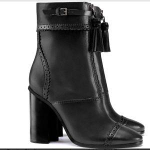 New Tory Burch Huxley Black Boots 5.5